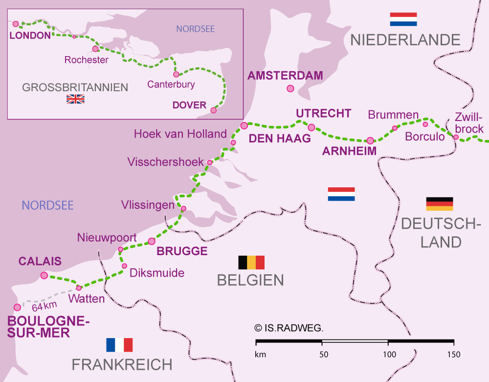 Map Of France And Holland Belgium.Euroroute R1 Tripcalculator France Belgium Netherland